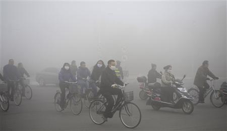 Hazardous Smog Covers Beijing (video)