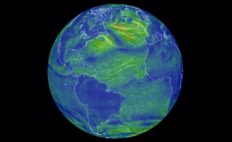 Live Earth Wind Map.What Would It Look Like To See All Of The Earth S Winds In Realtime