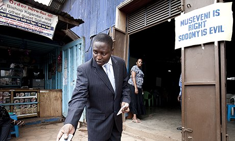 David Bahati- Ugandan MP who co-sponsored the anti-gay lesgislation