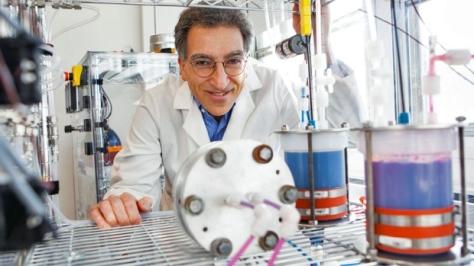 Lead project researcher Michael J. Aziz
