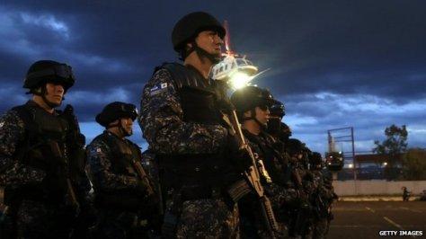 vigilantes disarmed