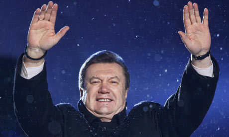 Viktor Yanukovych (Photo: The Guardian)
