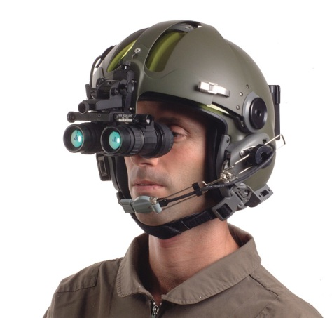 Even some of the smallest, most-advanced night-vision goggles are quite bulky (Image: Armed Forces International)