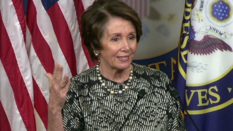 Nancy Pelosi (Image: CNN)