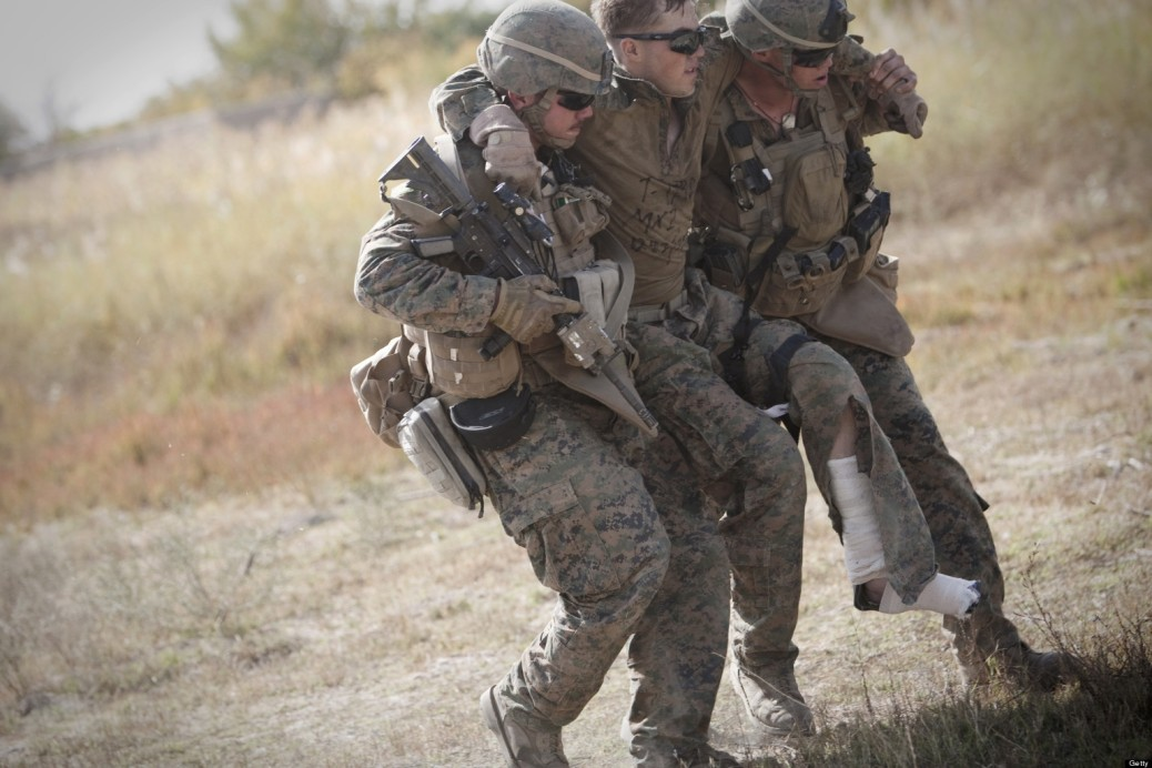 Us Marine lance corporal Zachary Densmor