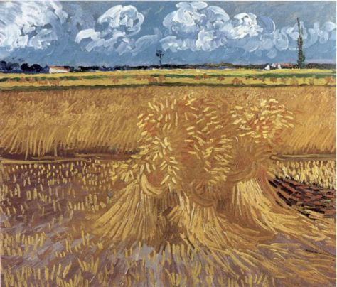 """Wheat field""- June 1888"