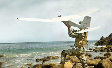 The Puma-AE drone (Image courtesy of AeroVironment)