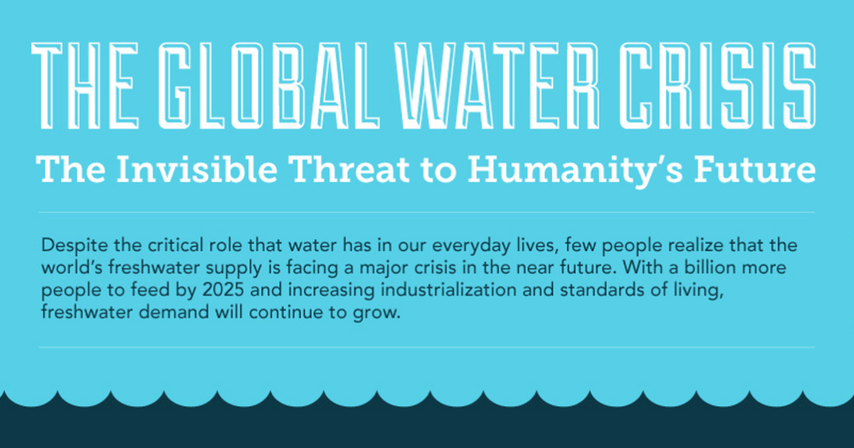 Water Scarcity- The Invisible Threat to Humanity's Future (Infographic)