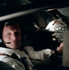 Mission commander Neil Armstrong during the Earth orbit phase before the lunar landing (Photo: NASA/Project Apollo Archive)