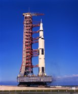 Apollo 11 before launch