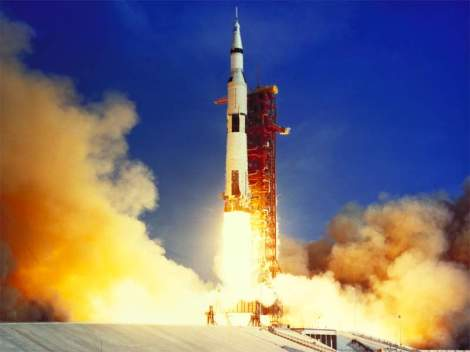 Apollo 11 Launching