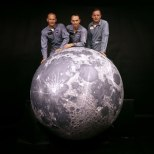 Aldrin, Collins, and Armstrong