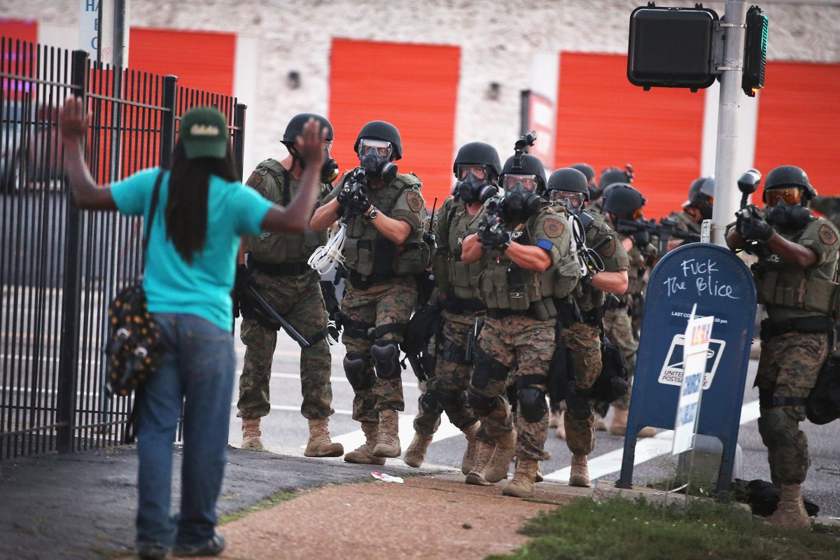 Reacting to the Arrest of Two Journalists Covering The Fallout In Ferguson
