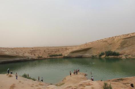 Lake Gafsa. Click to enlarge